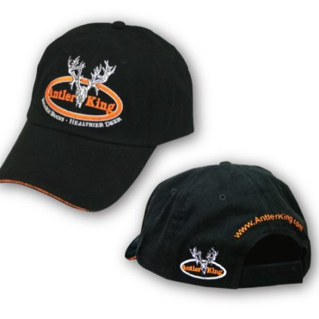 Antler King Black Hat