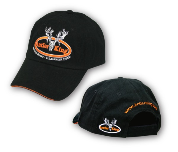 Antler King Black Hat