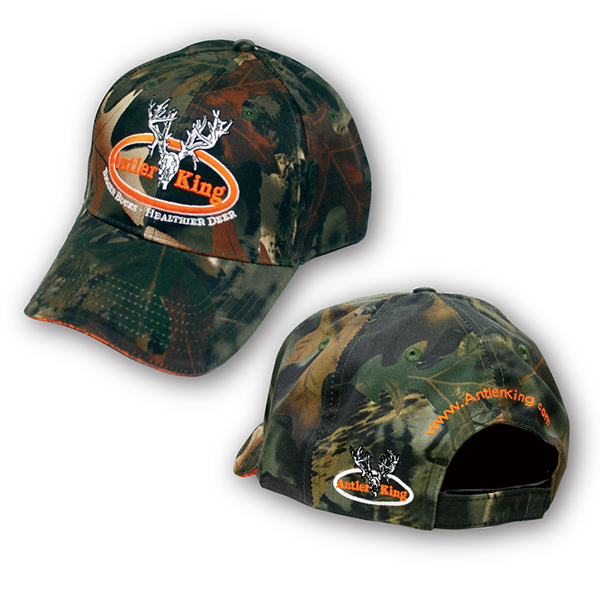 Antler King Green Camo Hat