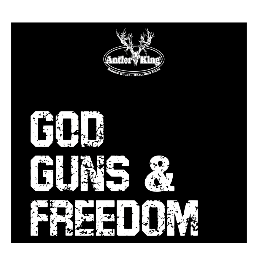 Antler King® Brand God, Guns, & Freedom T-Shirt